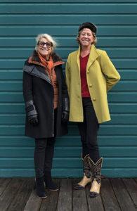 Sabrina Knowles and Jenny Pohlman